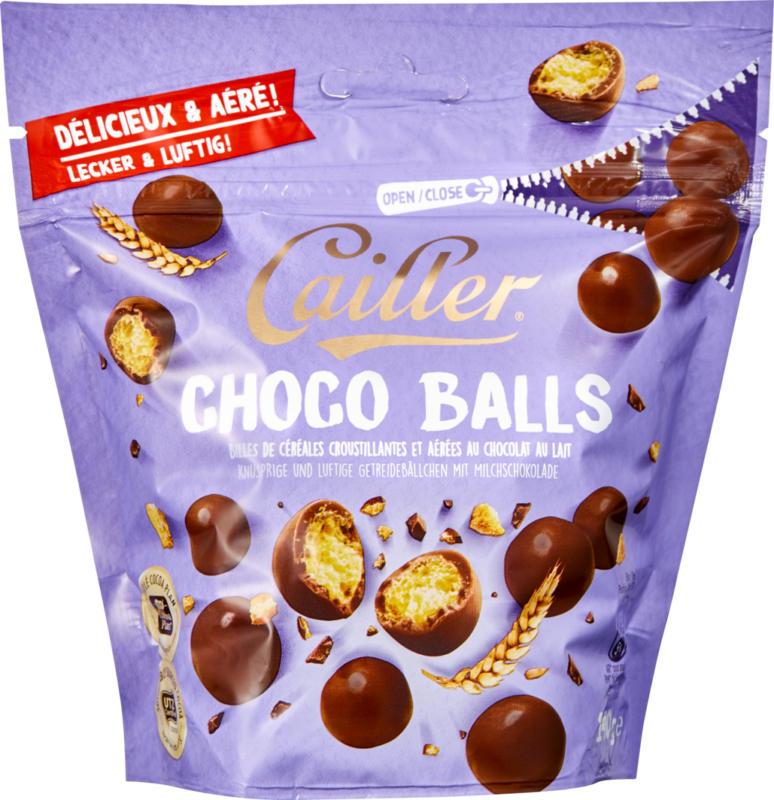 Cailler Choco Balls, Milk, 140 g
