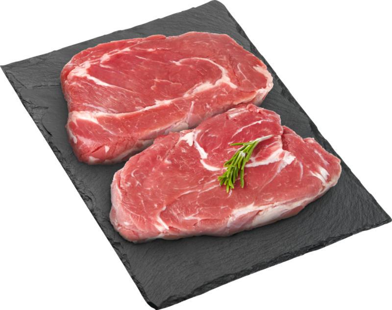 Côte couverte de bœuf Denner, Suisse, 2 x env. 180 g, les 100 g