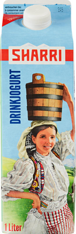 Yogourt à boire Sharri, 1 litre