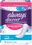 OTTO'S Always Discreet Serviettes+ pour fuites urinaires Long 8 pièces -