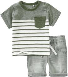 Baby T-Shirt und Jeansshorts im Set (Nur online)