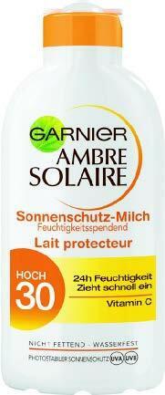 -25% auf alle Produkte der Marken Nivea und Ambre Solair