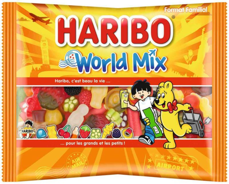 Haribo world-mix sachet 500g -