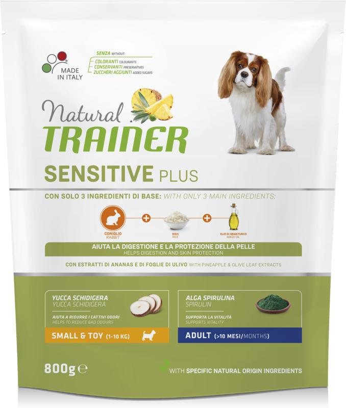 Trainer Nourriture pour chien Sensitive Plus Small & Toy Adult Lapin 800g