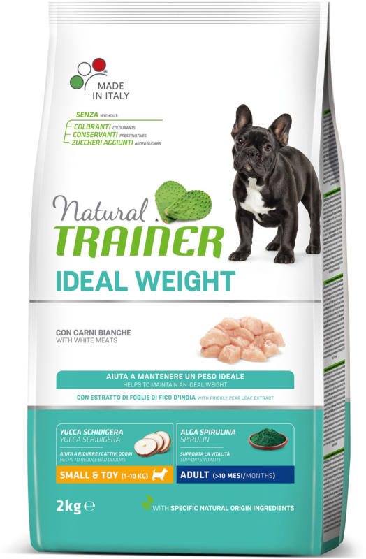 Trainer Hundefutter Ideal Weight Small & Toy White Meat 2kg
