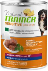 Trainer Hundefutter Sensitive No Gluten Medium & Maxi Adult Lamm 12x400g