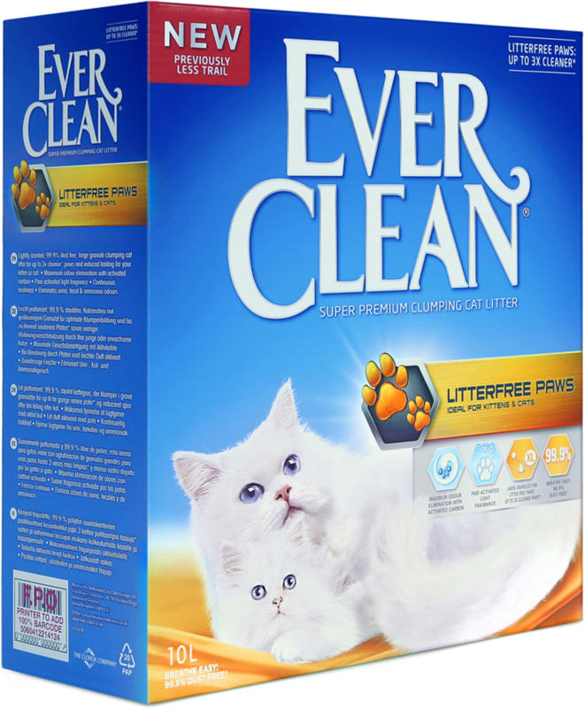 Everclean Litterfree Paws 10L
