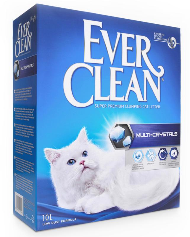 Everclean Multi-Crystals OC 10l litière pour chat