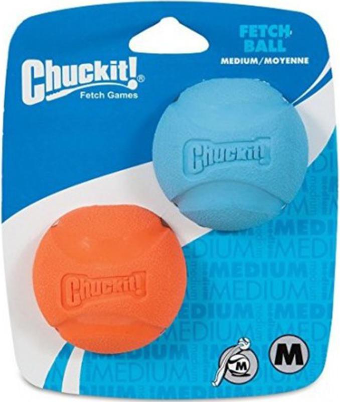 Chuckit! Medium Balles rebondissantes 2 pièces