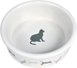 Écuelle en céramique avec motif chat 0.25l