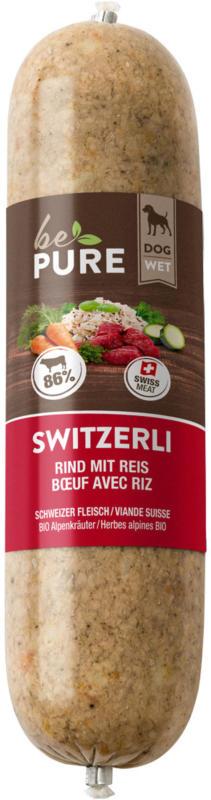 bePure Switzerli Boeuf et Riz 25x200g