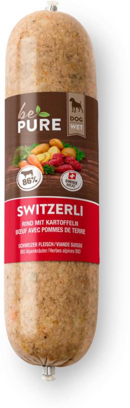 bePure Switzerli Rind & Kartoffel 20x400g