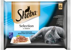 Sheba Sélection en Sauce aux Poissons13x4x85g