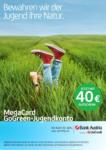 Bank Austria Bank Austria - MegaCard GoGreen-Jugendkonto mit 40€ Gutschein - bis 30.06.2021