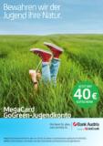 Bank Austria - MegaCard GoGreen-Jugendkonto mit 40€ Gutschein