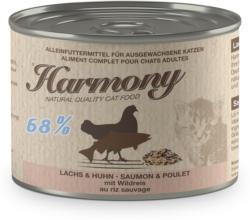 Harmony Cat Lachs & Huhn mit Wildreis 200g