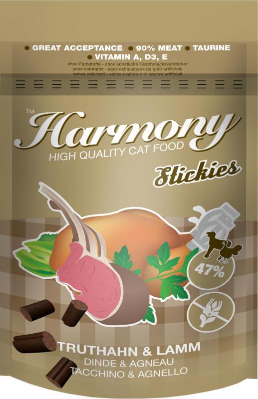 Harmony Cat Stickies Truthahn & Lamm 35g