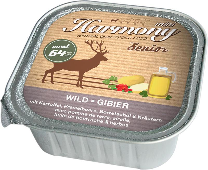 Harmony Dog Natural Nassfutter Senior Wild & Kartoffel 11x150g