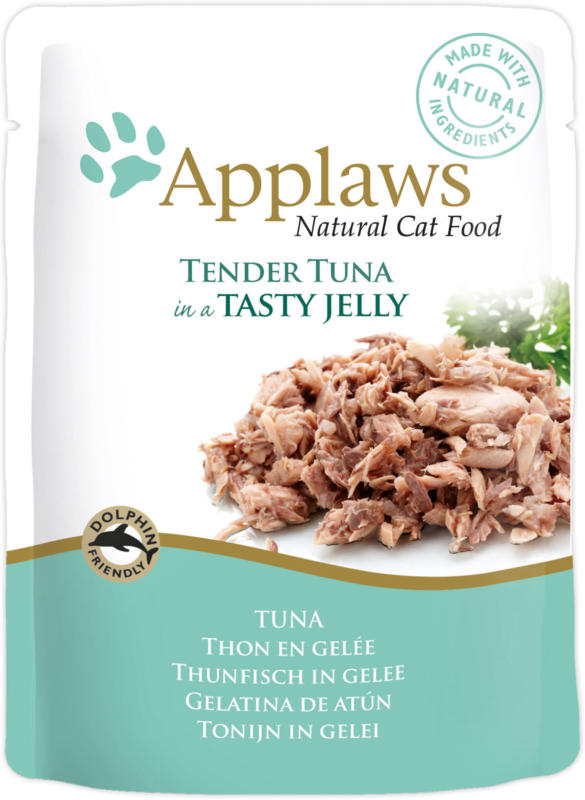 Applaws Pouch Tuna in Jelly 70g