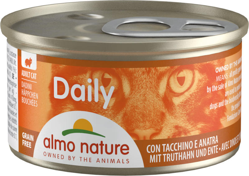 Almo Nature PFC Häppchen Adult Pute & Ente 24x85g