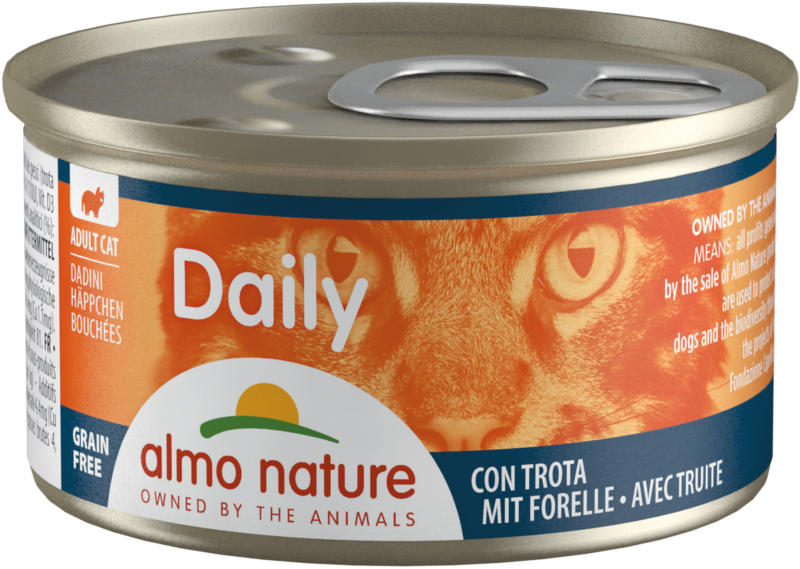 Almo Nature PFC Häppchen Forelle 24x85g