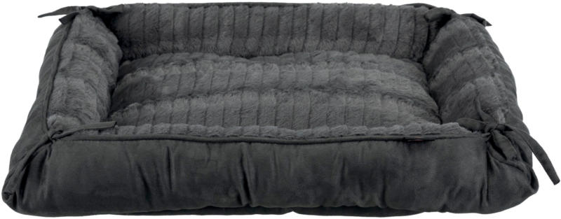 Lit & coussin Relax, 57 × 45 cm/70 × 60 cm, anthracite