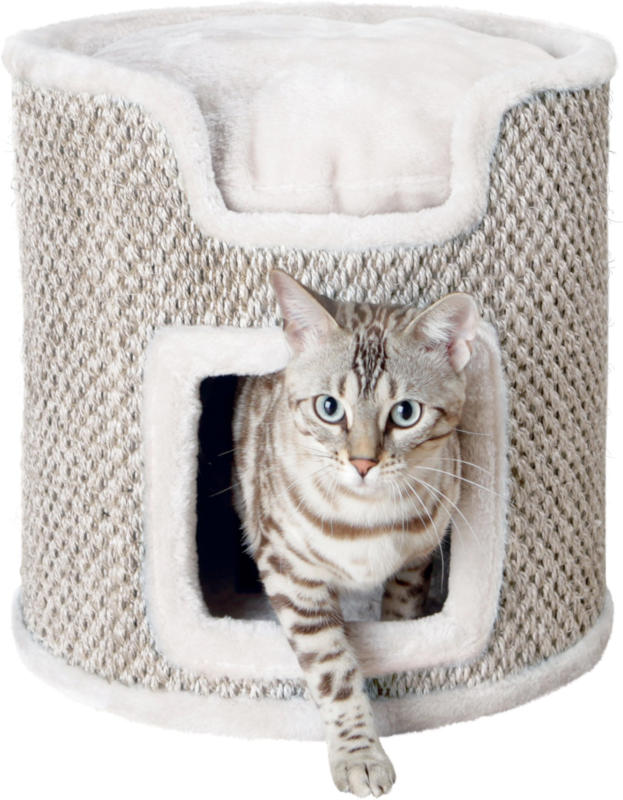 Cat Tower Ria lichtgrau/natur