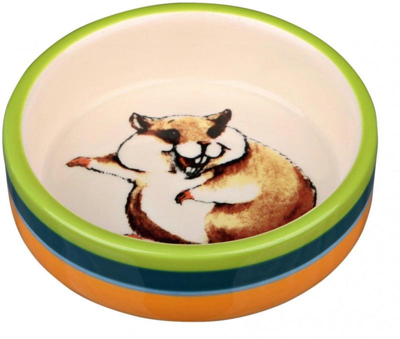 Gamelle en céramique pour hamsters 80ml 8cm