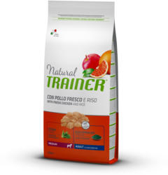 Trainer NATURAL Adult Medium Chicken, Rice & Aloe Vera 12.5kg