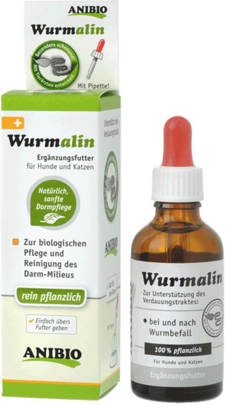Anibio Wurmalin pour chiens & chats 50ml