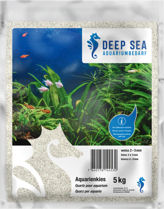 Deep Sea Aquariumkies weiss, 5kg