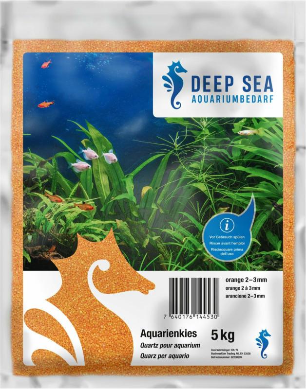 Deep Sea Aquariumkies orange, 5kg