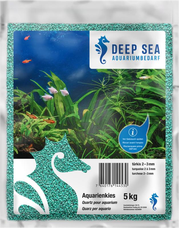 Deep Sea Aquariumkies türkis, 5kg