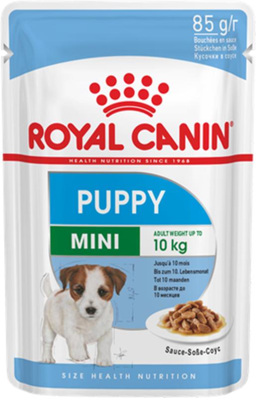 Royal Canin Chien Mini Puppy nourriture humide pour chiots 12x 85g