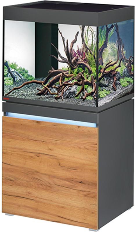 EHEIM Süsswasser Aquarium Incpiria LED 230 graphit/nature