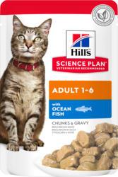 Hill's Science Plan Aliment pour Chat Adulte au Poisson de Mer - sachet repas - 85g