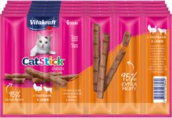 Vitakraft ACTION Cat Stick 5x6 dinde & agneau