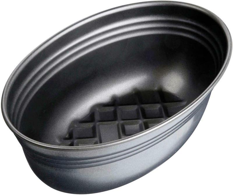 Backform Brot - Oval- in Schwarz