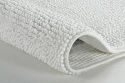 "Badteppich ""Tammy"", 50x60 cm, weiß weiß | weiß"