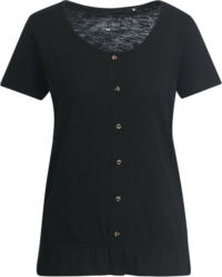 Damen T-Shirt mit Flammgarn (Nur online)