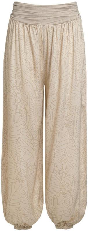 Damen Haremshose mit floralem Motiv (Nur online)
