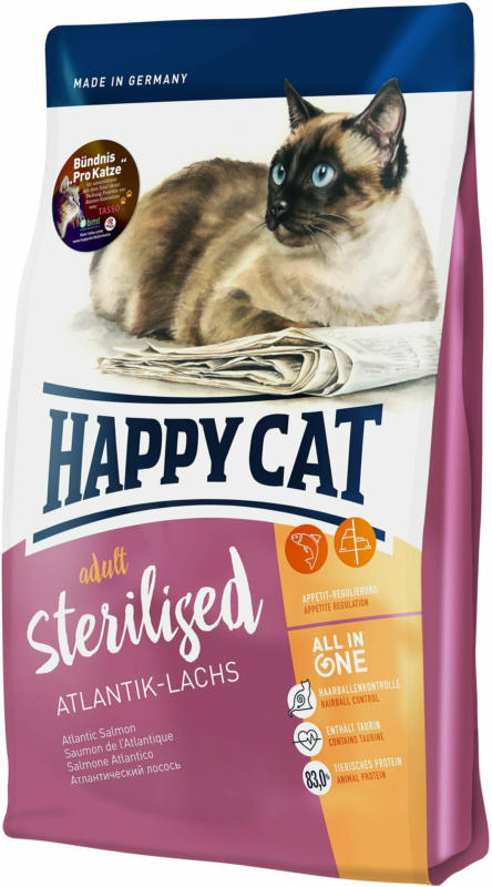 Happy Cat Sterilised saumon atlantique 300g