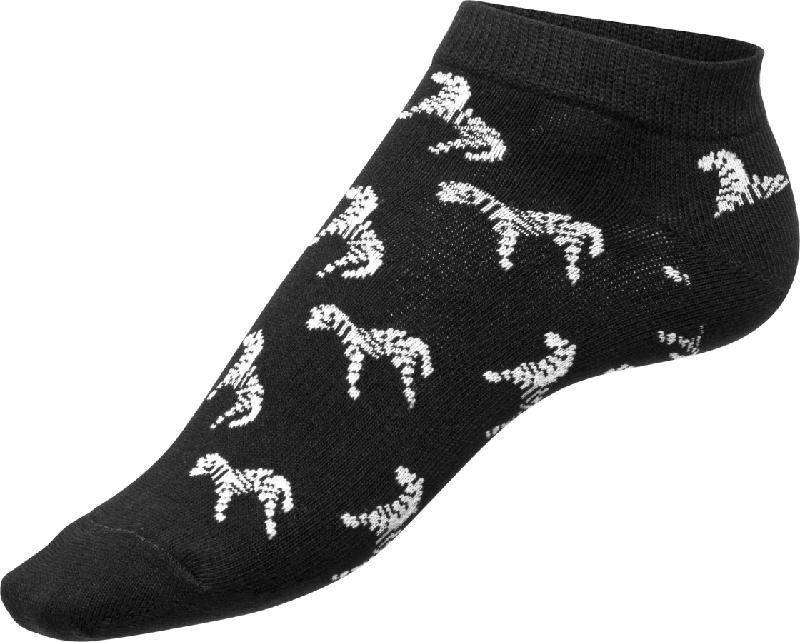 Fascino Sneaker mit Zebra-Muster, Gr. 39-42, schwarz, weiß