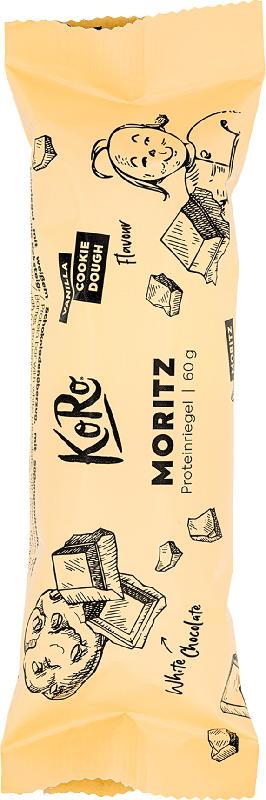 KoRo Proteinriegel Moritz, Vanilla & Cookie Dough