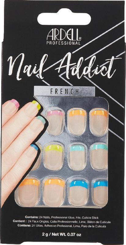 ARDELL Künstliche Fingernägel Rainbow French