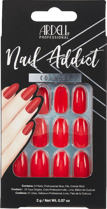 ARDELL Künstliche Fingernägel Cherry Red