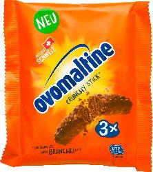Ovomaltine Schokoladen-Riegel, Crunchy Stick (3 x 22g)
