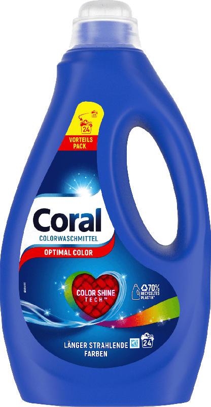 Coral Colorwaschmittel flüssig