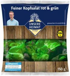 Unsere Heimat - echt & gut Feiner Kopfsalat rot & grün