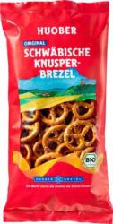 Huober original schwäbische Bio Knusper-Brezel